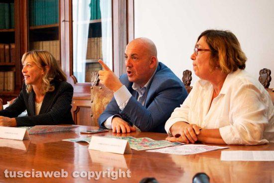 Viterbo - Margherita Eichberg, Giovanni Arena e Maria Letizia Arancio