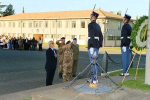 Viterbo - Le celebrazioni alla scuola sottufficiali dell'esercito