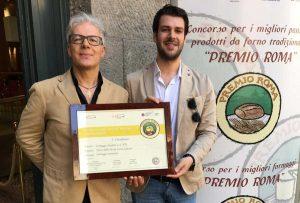 Premio Roma 2019 - Giovan Battista Chiodati con uno dei figli