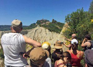 Cna - Gli allievi del percorso formativo nella valle dei Calanchi