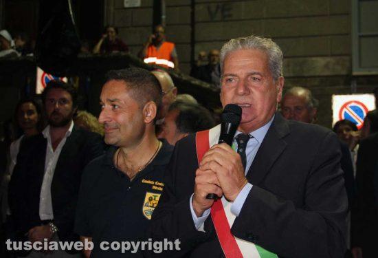 Santa Rosa - Il sindaco Giovanni Arena e Lucio Laureti