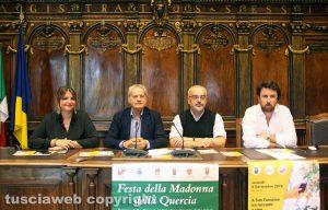 Viterbo - Presentazione festa della Madonna della Quercia