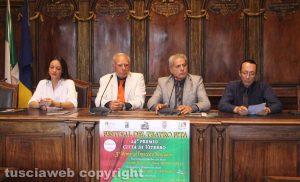 Viterbo - Presentazione festival teatro amatoriale Fita