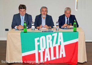 """Viterbo - Romoli, Battistoni e Arena presentano """"L'Italia e l'Europa che vogliamo"""""""