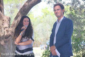 Viterbo - Giuseppe Colla e Antonella Sberna