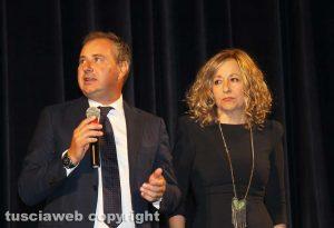 Viterbo - Domenico Merlani e Serenella Papalini