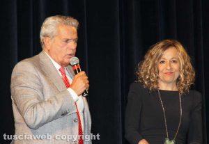 Viterbo - Serenella Papalini e il sindaco Giovanni Arena