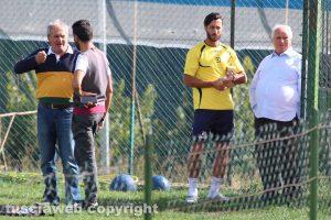 Sport - Calcio - Viterbese - Andrea De Falco e Franco Zavaglia