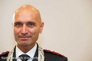 Viterbo - Colonnello Andrea Antonazzo, comandante provinciale dei carabinieri
