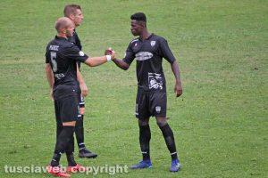 Sport - Calcio - Viterbese - Toni Markic ed Emmanuel Besea