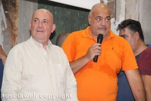 Viterbo - Il prefetto Bruno riceve la camicia e la fascia del Sodalizio