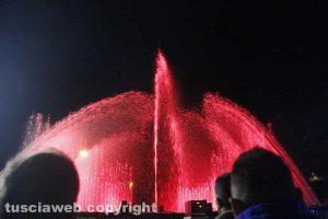 Santa Rosa - Le fontane danzanti