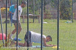 Sport - Calcio - Viterbese - Michele Volpe e Andrea De Falco