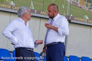 Sport - Calcio - Viterbese - Marco Romano e Diego Foresti