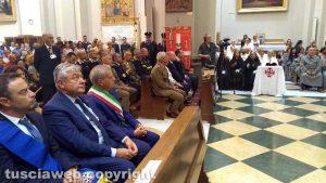 La messa di Santa Rosa celebrata dal vescovo