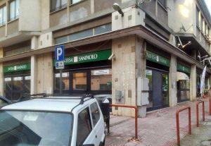 Banca Intesa - La filiale di Bagnaia