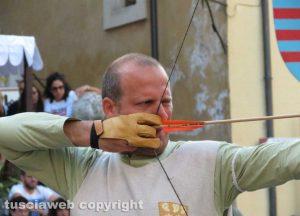 Orte - Il palio degli arcieri - Il vincitore Daniele Tassotti