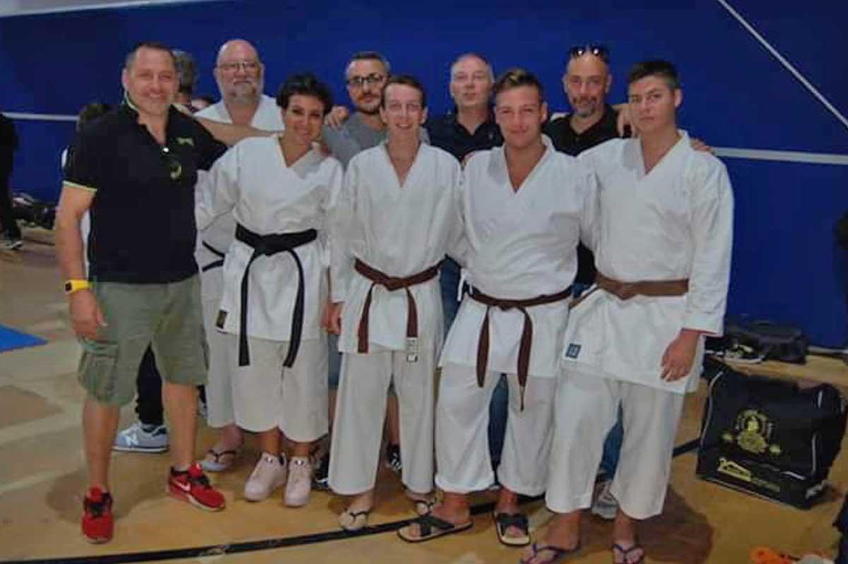 vari colori qualità eccellente a buon mercato Esami di graduazione, sei atleti della Ronin kai Tuscania ...