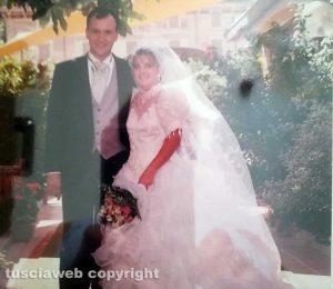 Nozze d'argento - Luca Rizzi e la moglie Roberta