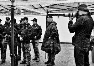 Paolo Pellegrin fotografa gli uomini e le donne della polizia di Stato