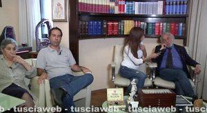 Bagnoregio - Anziano ucciso in una lite di condominio - Marco D'Orazi con la madre Teresa e l'avvocato Taurchini