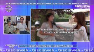 Bagnoregio - Anziano morto per un pugno durante una lite condominiale - Il caso a Pomeriggio Cinque di Barbara D'Urso