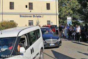 Oriolo Romano - I pendolari bloccati