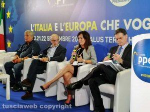 Viterbo - L'incontro Forza Italia - Tecnè