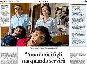 Marco e Carlo Gentili - L'articolo di Repubblica