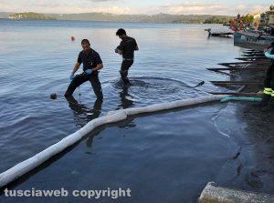 Marta - Sversamento di gasolio nel lago di Bolsena