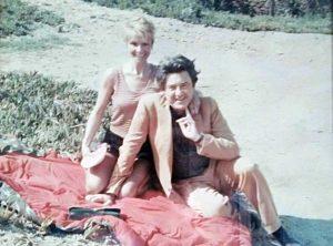 Germana Ferrari con il marito Sebastian Matta