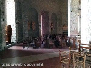 Montefiascone - La cripta di santa Lucia