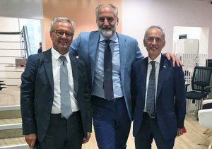 L'inaugurazione della filiale Ubi Banca a Viterbo