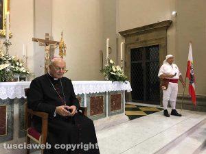 Viterbo - Santa Rosa - il vescovo Fumagalli