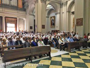 Viterbo - I facchini alla basilica di Santa Rosa