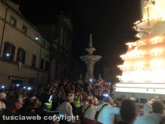 Gloria a piazza Fontana Grande