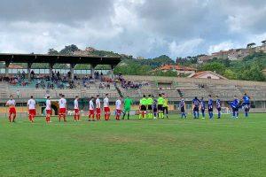 Sport - Calcio - Il match tra Montefiascone e Bomarzo