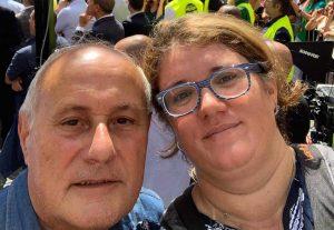 La Lega di Viterbo manifesta a Roma fuori la Camera