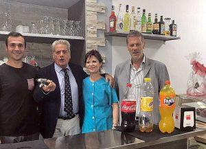 Daniele Proietti, Giovanni Arena, Sabrina Proietti e Claudio Ubertini