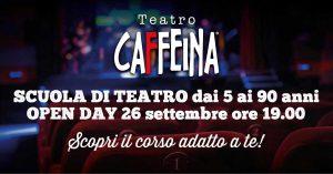 Open day al Teatro Caffeina