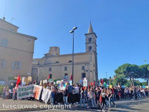 "Il ""Fridays for future"" a Viterbo"