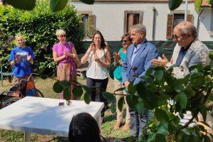 Viterbo - L'assessora Antonella Sberna al campo estivo per bambini speciali