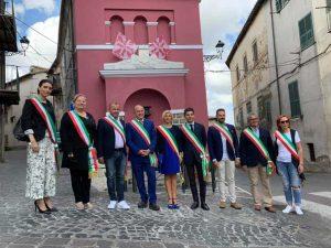 La consigliera Olivieri a Tolfa insieme agli amministratori degli altri comuni