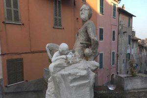 Ronciglione - Una scultura di Cristiano Alviti