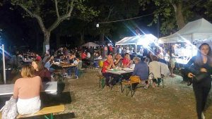 Viterbo - La serata street food a pratogiardino