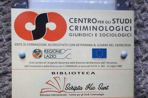 Viterbo - Il centro studi criminologici