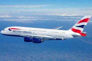 Un aereo della British Airways