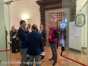 Viterbo - Unitus - Elezioni per il nuovo rettore all'aula magna di Santa Maria in Gradi