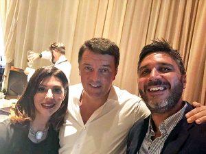 Piergiorgio Medori con Matteo Renzi