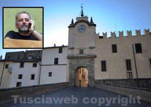 Capranica - Nel riquadro Fabio Morlupi